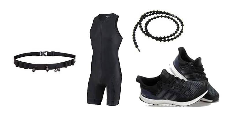 équipement triathlon - course à pied