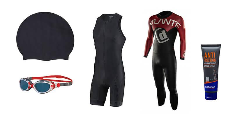 équipement triathlon - natation