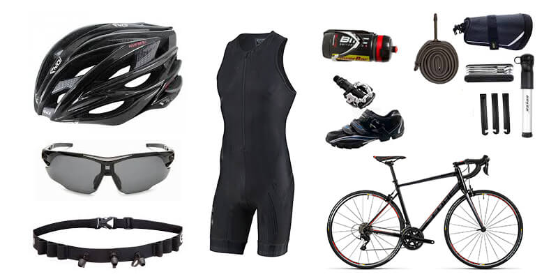 équipement triathlon - vélo