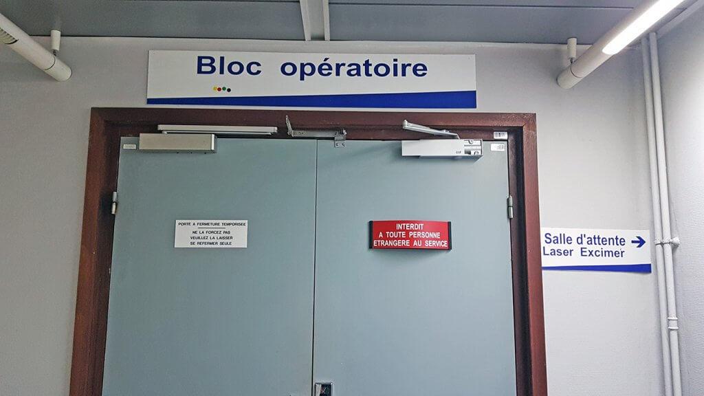Opération myopie CHRU Lille