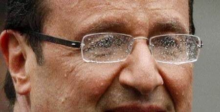 Buée pluie sur les lunettes
