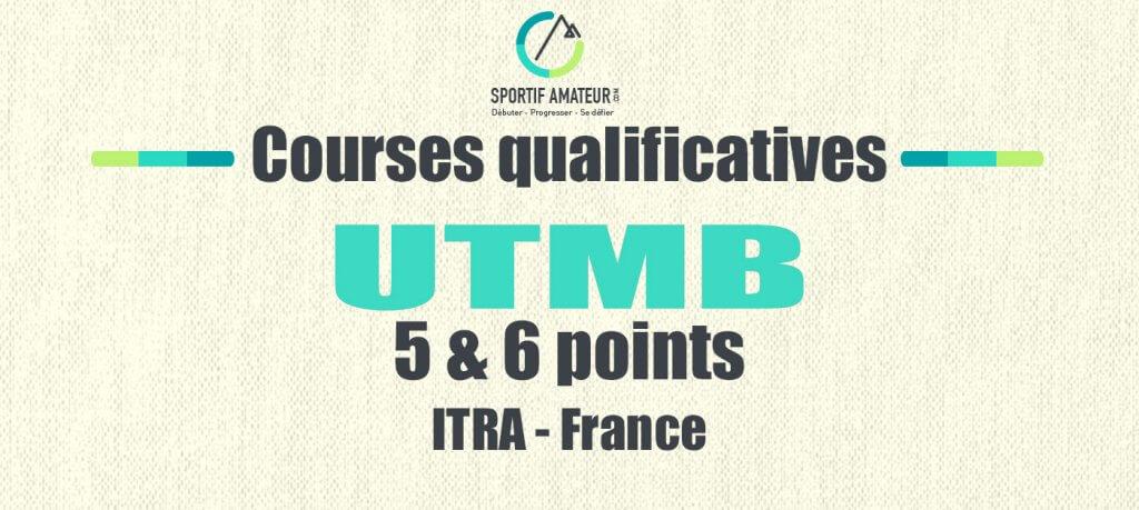 Ultra trail 5 6 points UTMB