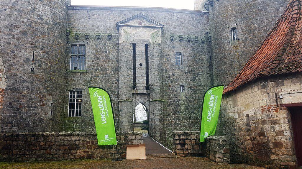 Chateau d'Holain - Départ Trail des poilus