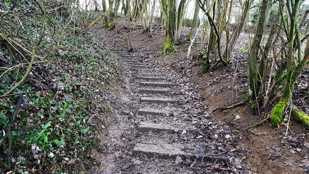 Trail des Poilus - marches