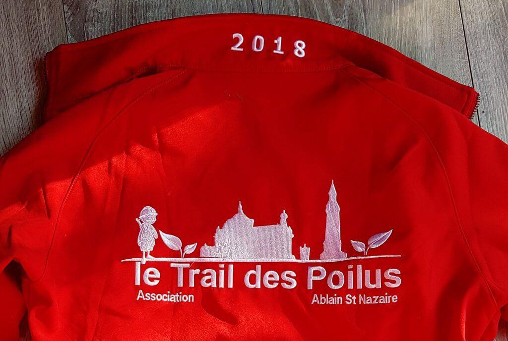 veste Trail des Poilus