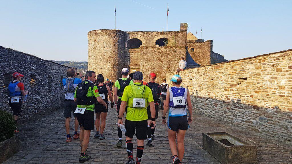 Trail La Bouillonnante - Départ du chateau