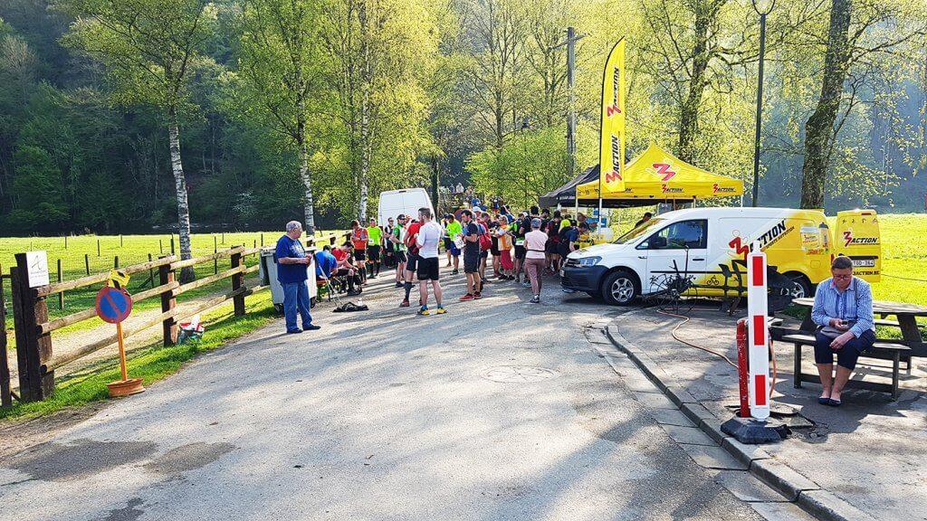 Trail La Bouillonnante - Ravito Frahan