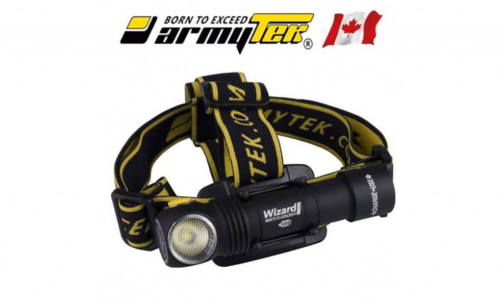 Lampe Frontale Armytek Wizard Ultra Trail Avis Et Test Sportif