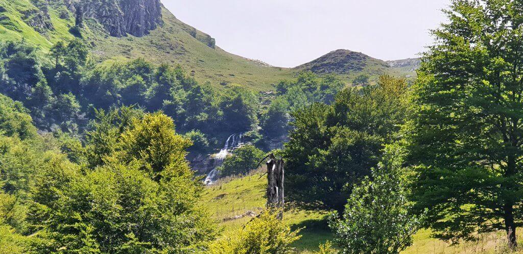 Randonnée cascade pista