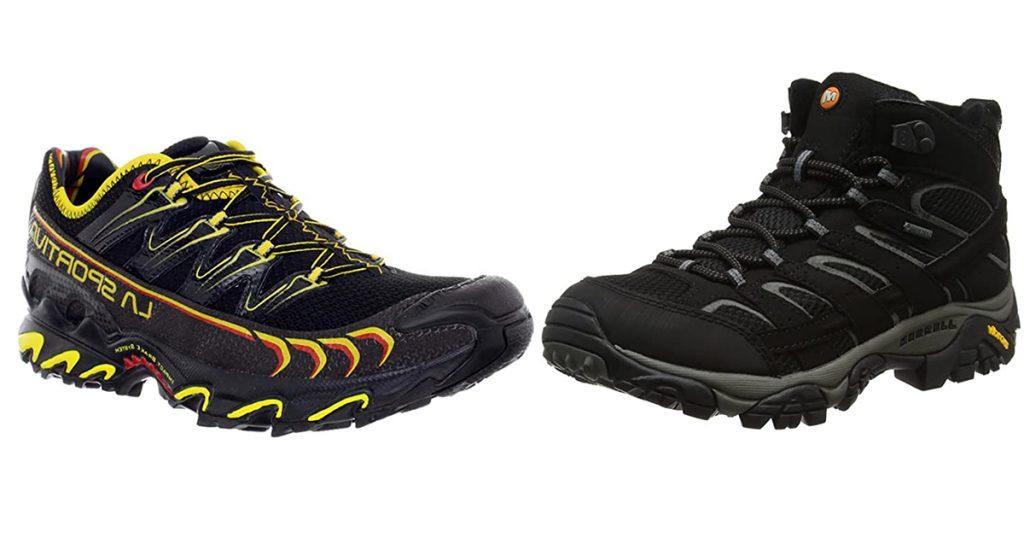 GR20 chaussures trail rando