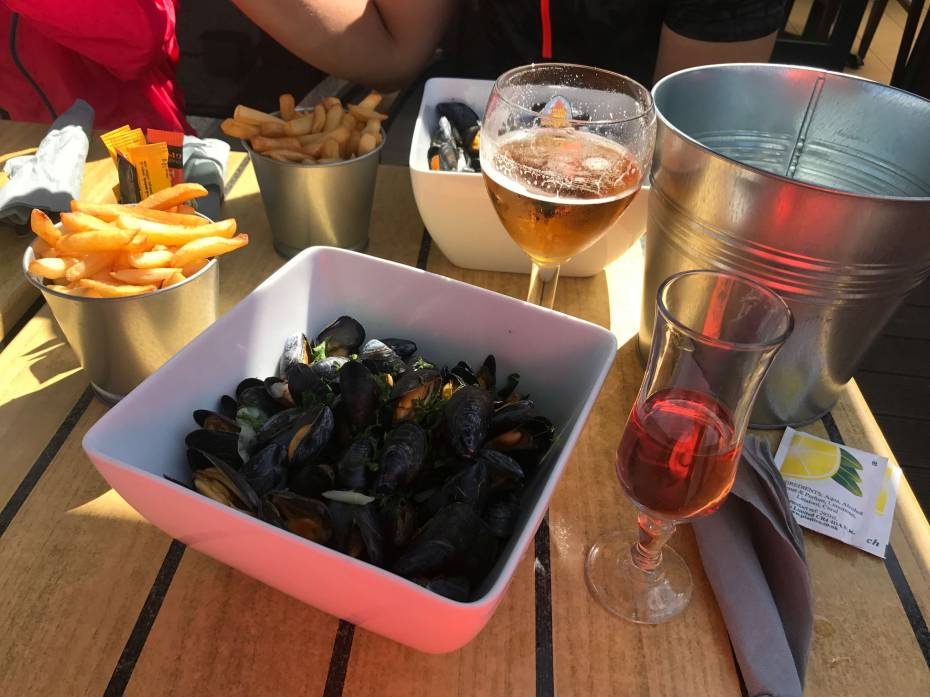 St Valéry sur Somme moules frites
